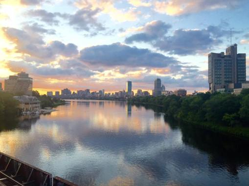 Sunrise on the Charles River
